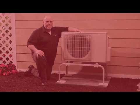 Quick Sling Mini Split Stand Video Youtube