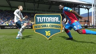 Как делать финты в FIFA 16?