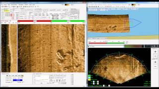 Mosaicking of BlueView Forward Look Imaging Sonar Using GeoDAS Software Video