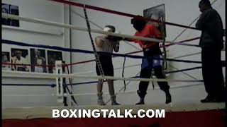 16 year old Devon Alexander schools Abdullaev in 2004 sparring Never Before Seen