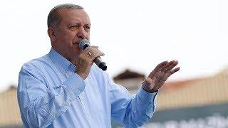 Cumhurbaşkanı Erdoğan, Ovit Tüneli açılışında konuşuyor