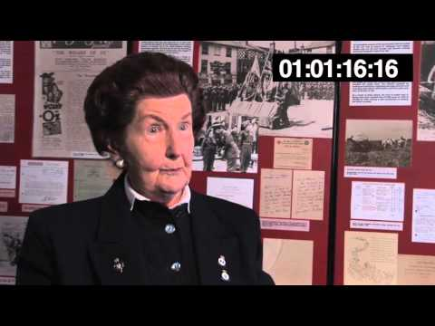 Kay Stadden was a teleprinter operator at the War Office in London