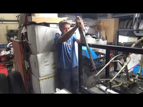 1942 wlc wla 45ci #146 frame restoration straightening rebuild bike repair harley by tatro machine