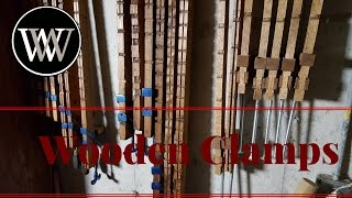 Video Wooden Bar Clamps In My Shop and The Home Made Beam Clamps download MP3, 3GP, MP4, WEBM, AVI, FLV September 2018
