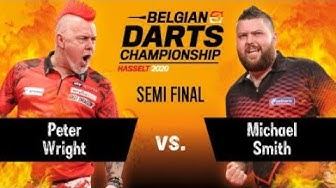 Belgian Darts Championship 2020, March 1 - Semi Final - Peter Wright vs. Michael Smith