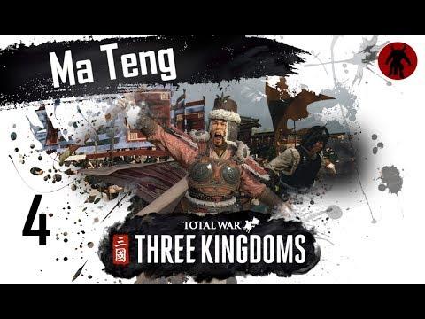 Total War: Three Kingdoms - Ma Teng Romance Mode Campaign #4