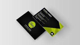 Modern Business Card [Corporate Green] - Creative Arts™