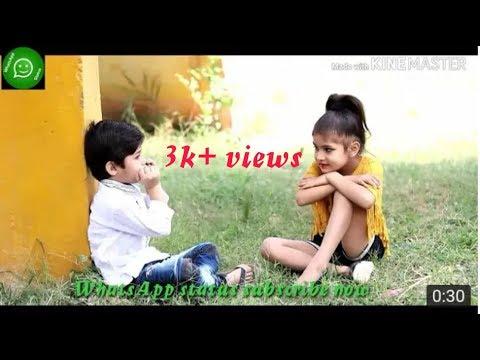Bachpan Me Jise Chand Suna Tha 💞cute Whatsapp Status 💞