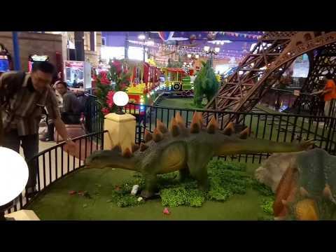Dinosaurus di Transmart Yogyakarta#seperti di dunia yang hilang The Lost World#Trans Studio Mini