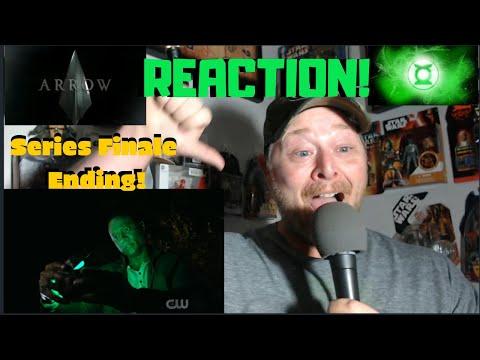 John Diggle becomes Green Lantern Reaction! | Arrow Series Finale Ending | CW | DCTV