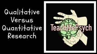 Qualitative vs. Quantitative Research