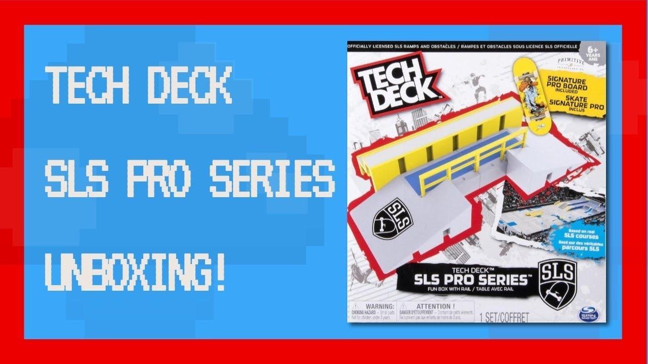 Tech Deck Sls Pro Series Unboxing