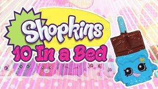 Shopkins 10 In The Bed | Numbers | Shopkins | SillyPop