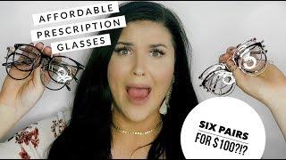e4528f9830 Affordable Prescription Glasses Haul