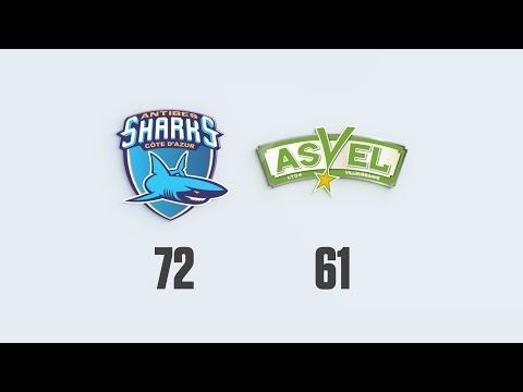 HIGHLIGHTS - ANTIBES SHARKS vs. ASVEL LYON-VILLEURBANNE (29.03.2016) - J26 Pro A