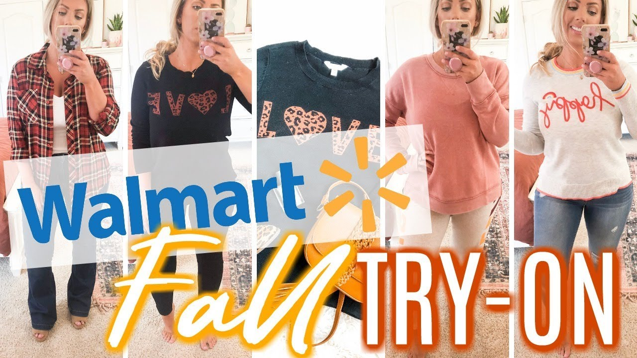 WALMART FALL TRY-ON | Fall Sweaters, Shoes & Accessories 2