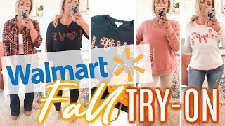 WALMART FALL TRY-ON | Fall Sweaters, Shoes & Accessories