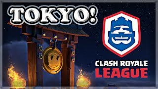 Heading to Tokyo for CRL Finals! | Clash Royale 🍊