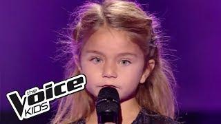 Tra te e il mare - Laura Pausini | Valentina | The Voice Kids France 2017 | Blind Audition - the voice france 2021 judges