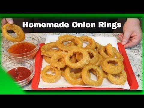 Crispy Homemade BEER BATTER Onion Rings!  (Watch Out For Sheila)