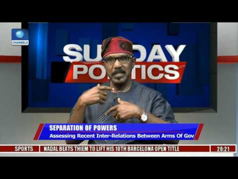 Separation Of Powers: Assessing Recent Inter-Relations Between Arms Of Govt Pt 3