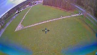 HGL-RC XJB-145 - First FPV Flight, windy conditions