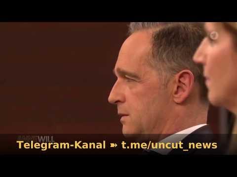 Entlarvend: Maas reagiert nicht einmal und die Journalistin nimmt es als Selbstverständlich hin