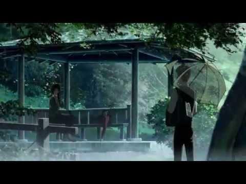 аниме дождь картинки