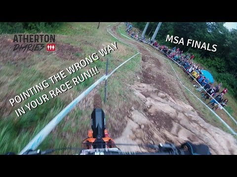 Rachel Atherton's Amazing Save! Full Mont St Anne Downhill Finals run on GoPro