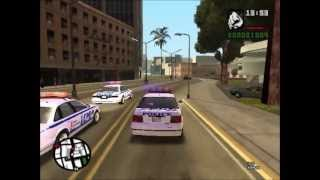 GTA SA: Watcha gonna do when they come for u (they=police in GTA SA not me so dont get confused...)