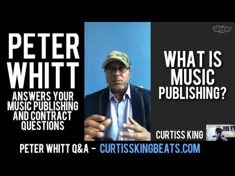 Rappers & Producers - Peter Whitt Answers Your Music Publishing & Contract Questions