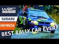 SUBARU Impreza - Best rally car ever? World Rally Championship - Top WRC cars!