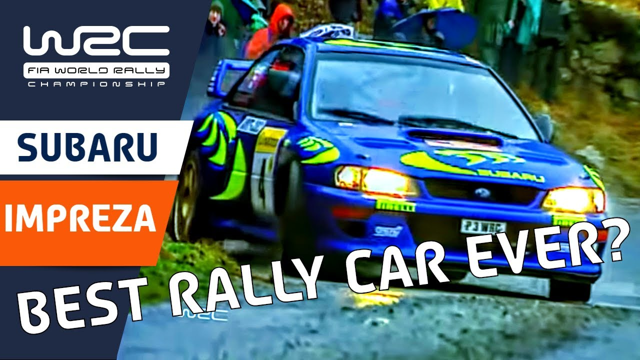 Fia World Rally Championship Wrc History Greatest Cars Subaru