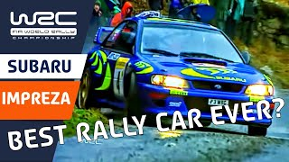 "FIA World Rally Championship: WRC History ""Greatest Cars - SUBARU Impreza"""