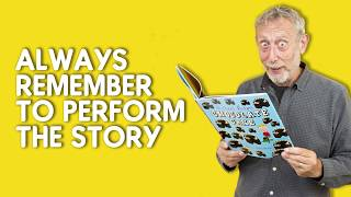 Michael Rosen's top tips for performing poems and stories Video