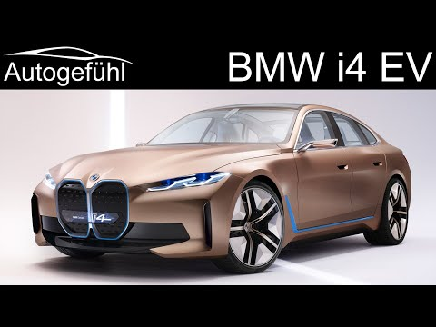 BMW I4 Concept EV Reveal - This Will Be The Electric BMW 4-Series Gran Coupé - Autogefühl