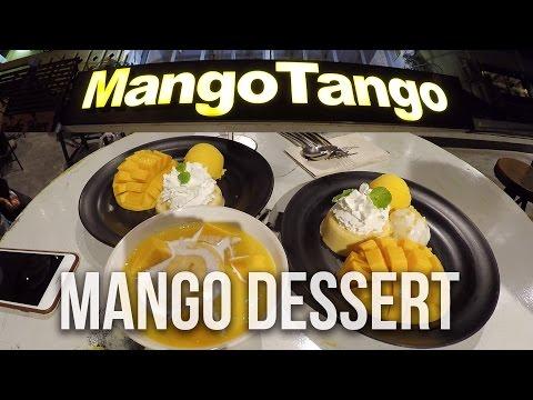 Mango Tango 🍧 Must Try Thai Best Desserts Cafe Restaurant Bangkok Thailand 泰國曼谷 Street Food