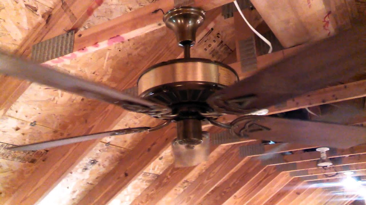 Tara Ceiling Fan by Southern Fan Co custom 5 blade UPDATED