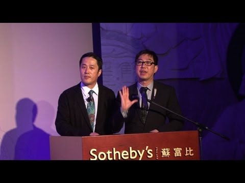 Sotheby's gains new foothold in China art market