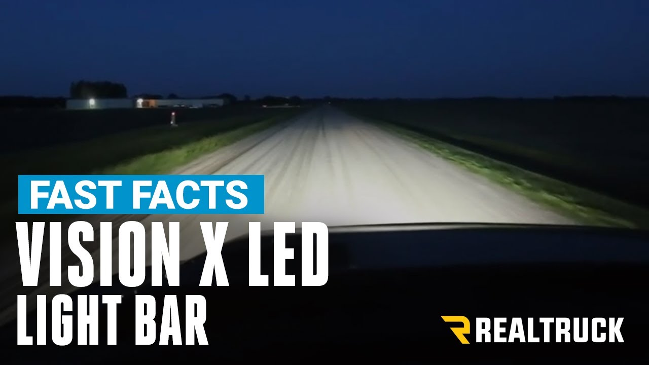 Vision X Led Light Bar Fast Facts Youtube Heavy Duty Wiring Suitable For Hid Halogen And Bars