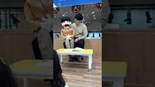 """(복화술 동화)유치부 예배에서 호야랑 """"정직하지 못한 …"""
