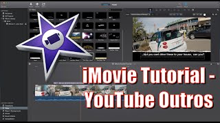 How To Make a YouTube Outro with iMovie 2015