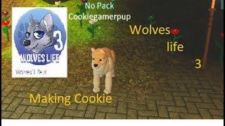 Episode 11: Roblox: Cookie zu meinem Welpen machen! ......... in Wölfe Leben 3