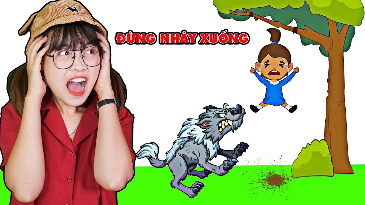 Hà Sam Giải Cứu Em Bé Thoát Khỏi Chó Sói Ăn Thịt Nguy Hiểm - Draw One Part