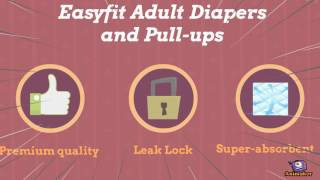 Easyfit adult diapers and pull ups online