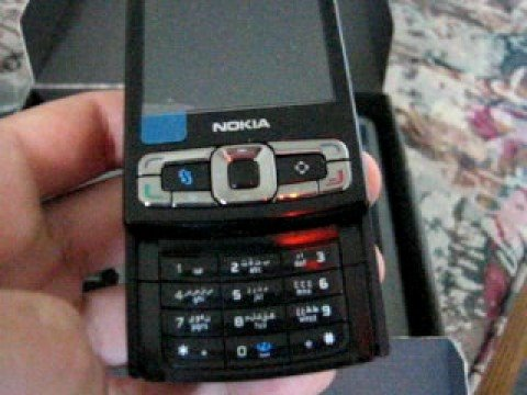 Nokia N95 8GB unboxing video