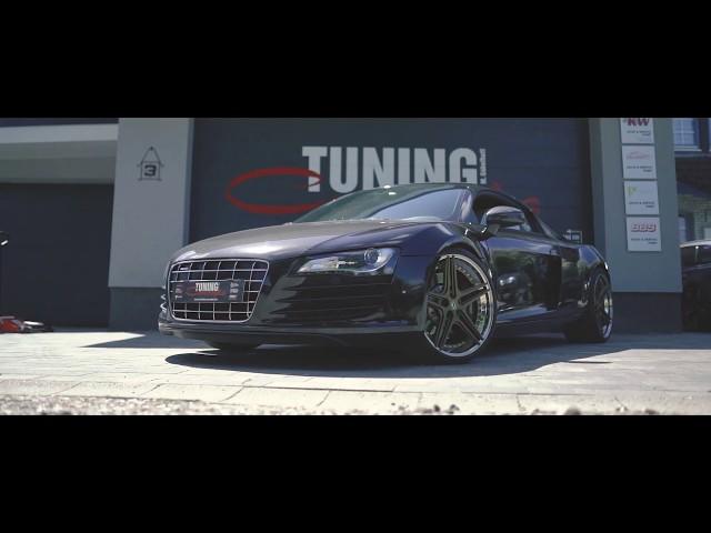 Audi R8 auf Schmidt 20 Zoll FS-Line Felgen Concave