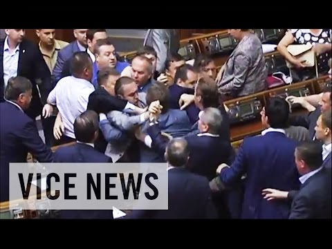 Brawl Breaks out in Ukrainian Parliament: This Just In