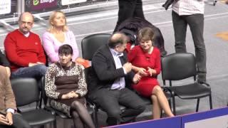 Toruńscy adwokaci na meczu KST Energa-Manekin Toruń - 2014.10.21