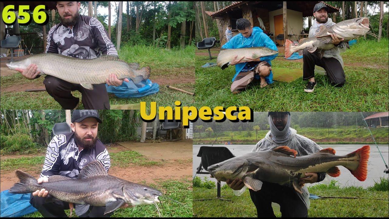 Chuva e muito peixe gigante no Unipesca - Programa Fishingtur na TV 656
